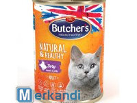 BUTCHER'S NATURAL & HEALTHY CAT WITH GAME JUNKS IN JELLY 400g