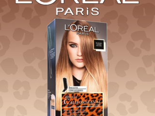 L'OREAL COLORATION MUCHAS CALIFORNIANAS BLOND TO DARK BLONDE