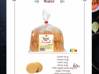 Snack wafers - Natural  wafers